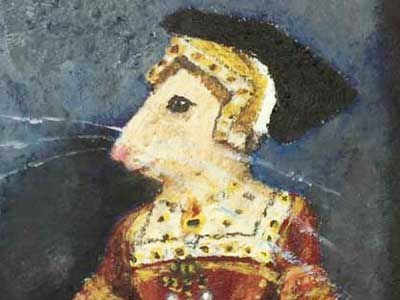 "After Hans Holbein - ""Jane Seymour Mouse"""